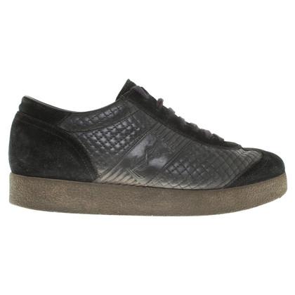 Yves Saint Laurent Plateau sneakers in black