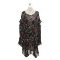 Iro Kleid mit floralem Muster