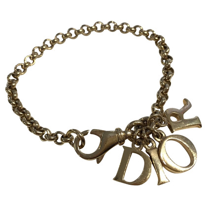 Christian Dior Armband met logo-trailers