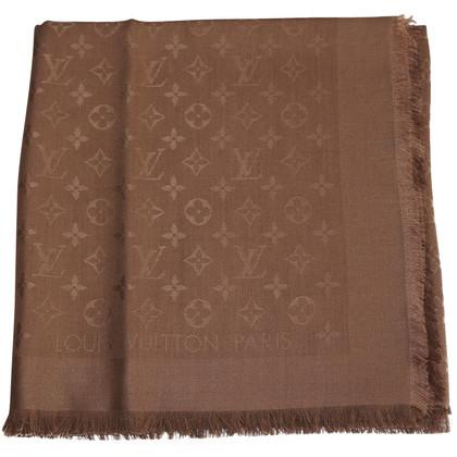 Louis Vuitton Sciarpa del monogramma in marrone