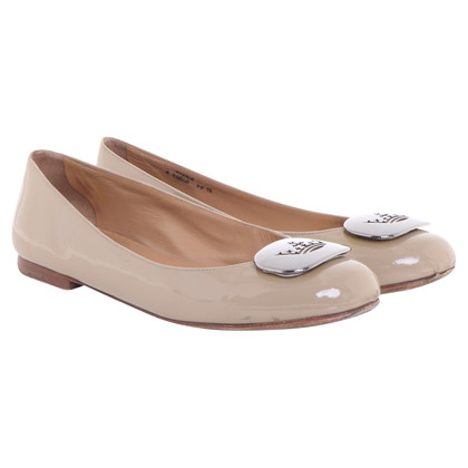 Church's Ballerines en cuir verni