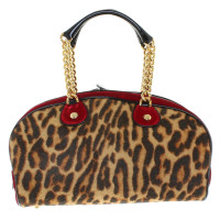 Christian Dior Handbag with animal print
