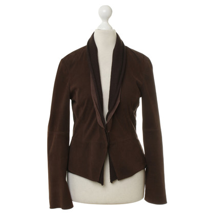 Brunello Cucinelli Suede jacket in Brown