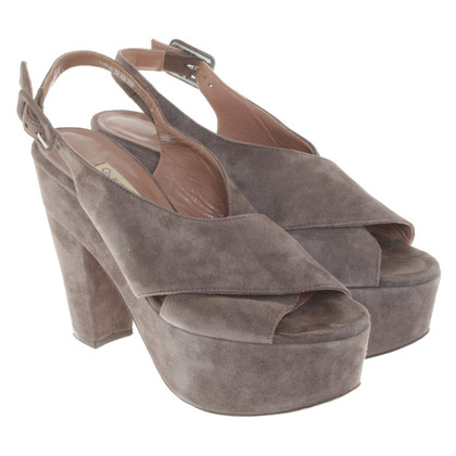 L'autre Chose Sandals of suede