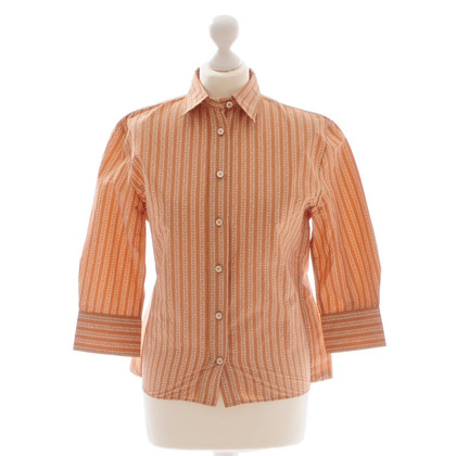 Bottega Veneta Beige patroon blouse