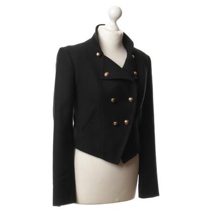 Juicy Couture Caban jas in zwart
