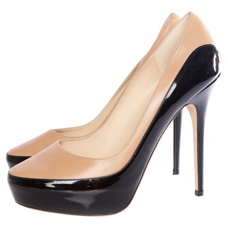 Jimmy Choo Platform Pumps Schwarz