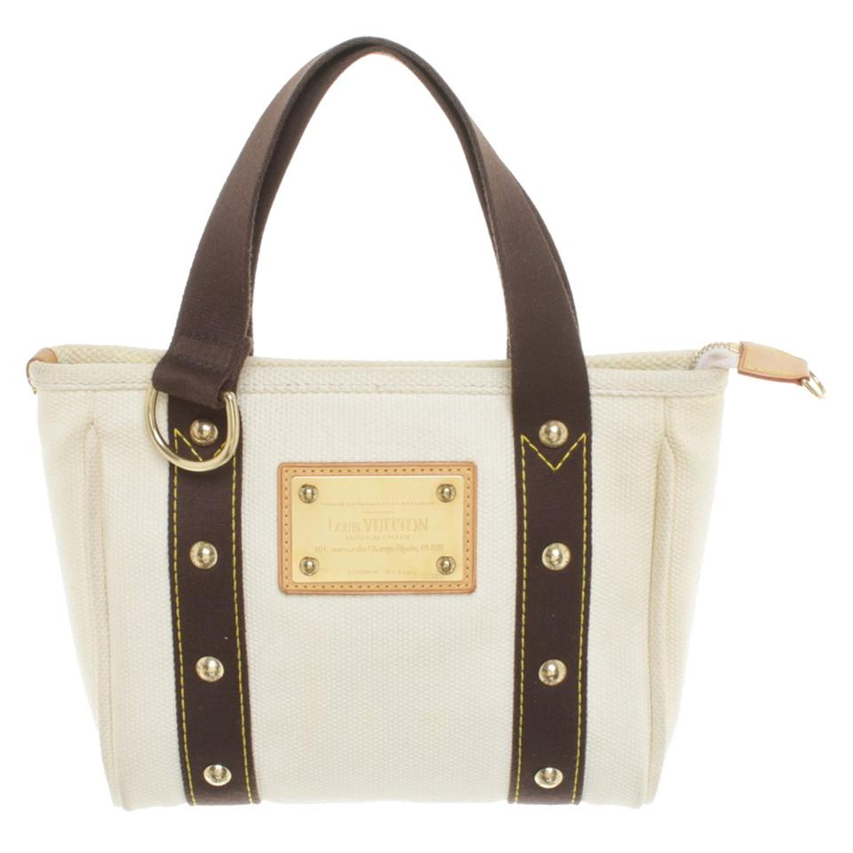 louis vuitton handtasche in beige second hand louis vuitton handtasche in beige gebraucht. Black Bedroom Furniture Sets. Home Design Ideas