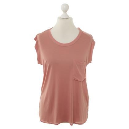 René Lezard T-Shirt in roze