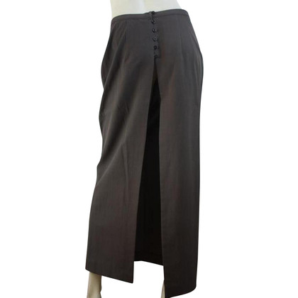 Dries van Noten Maxi gonna in grigio