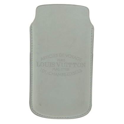 Louis Vuitton iPhone 5 case in mint green