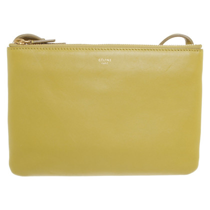 "Céline ""Large Trio Bag"" in light green"