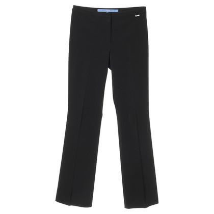 Escada Black pants with crease