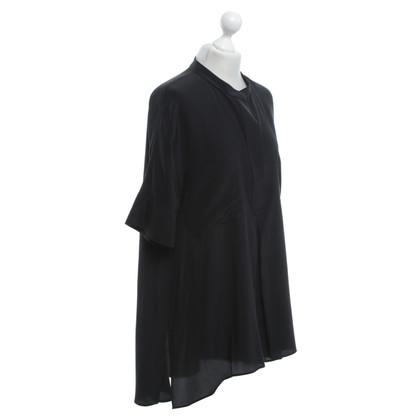 Joseph zijden jurk in zwart