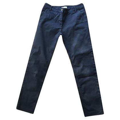 Pinko pantaloni di tela blu