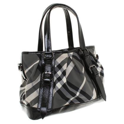Burberry Handtasche mit Muster