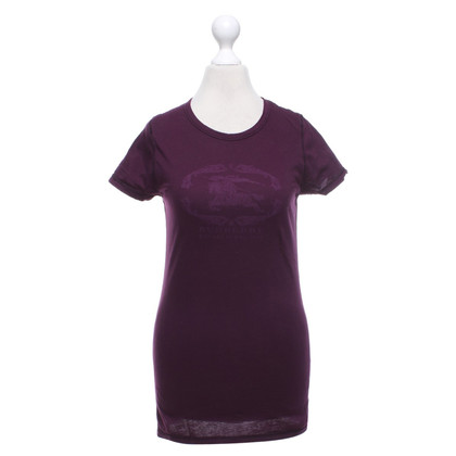 Burberry T-shirt a Bordeaux