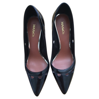 Max & Co Max & Co patent Leren pumps