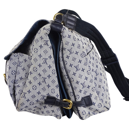 """Louis Vuitton """"Sac Maman Monogram Mini Lin Blue"""""""