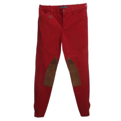 Ralph Lauren Hose in Rot