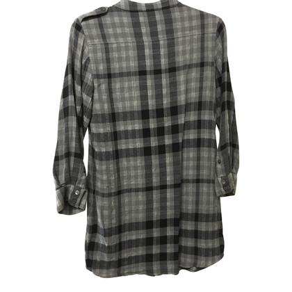 Burberry Wool blend check shirt