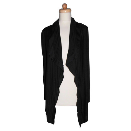 Helmut Lang Cardigan with a waterfall collar