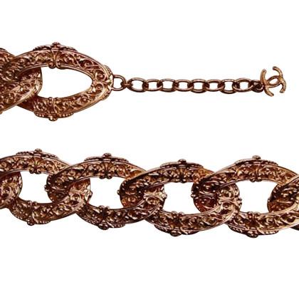 Chanel Goldfarbener Gürtel