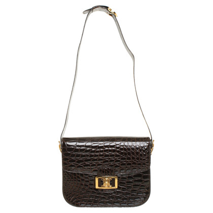 Céline Shoulder bag made of crocodile skin