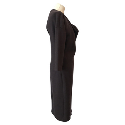 Jil Sander robe brun foncé