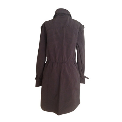 Marc Cain Aubergine trench coat