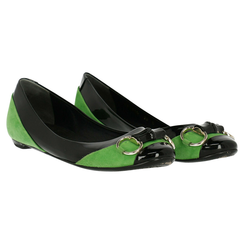 Gucci Slippers/Ballerinas Leather in