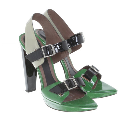 Marni High Heels in Tricolor