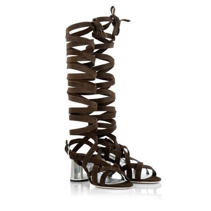 Miu Miu Sandals in Brown