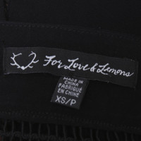 Altre marche For Love & Lemons - Rock in nero