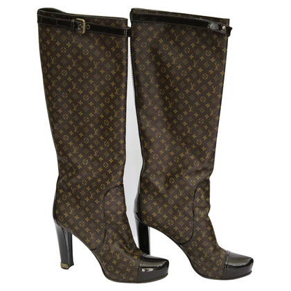 Louis Vuitton Boots from Monogram Canvas