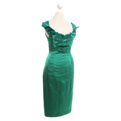 Karen Millen Silk dress in green