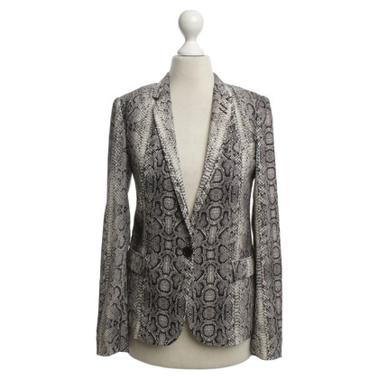 The Kooples Blazer dans l'art animal