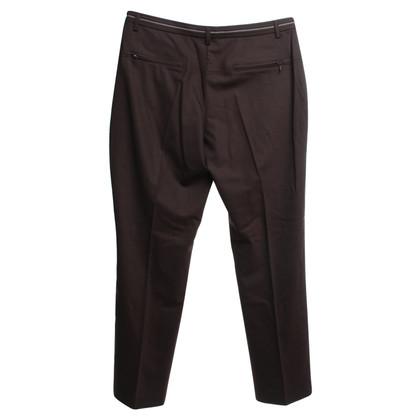 Gunex trousers in brown