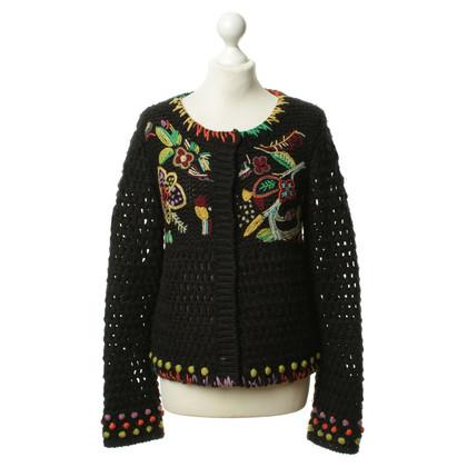 Kenzo Vest trui met bloemmotief