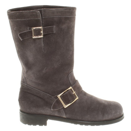 Jimmy Choo Boots in Dark Grey