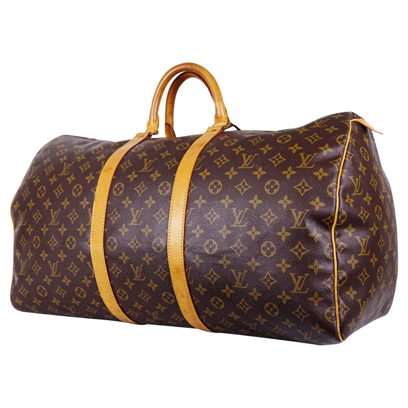 louis vuitton keepall 55 reisetasche handgep ck second hand louis vuitton keepall 55. Black Bedroom Furniture Sets. Home Design Ideas