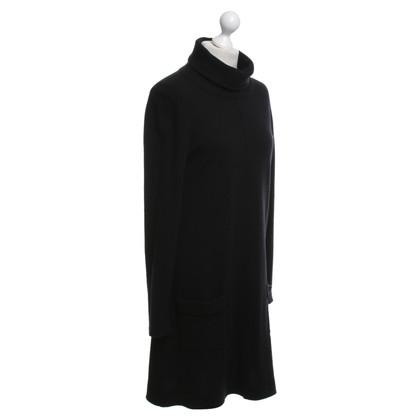 Allude Cashmere jurk in zwart