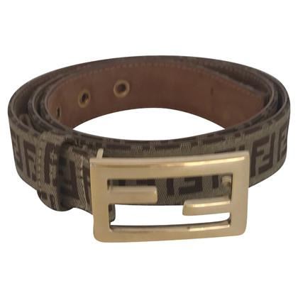 Fendi Cintura con fibbia logo