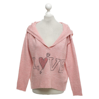 Camouflage Couture Sweater in pink