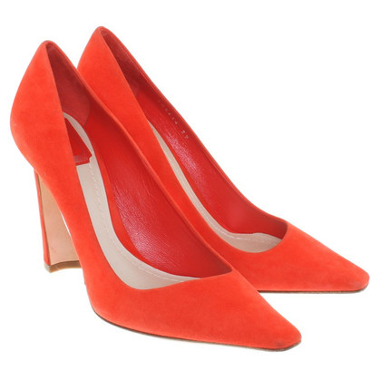 Christian Dior Pumps in Orange