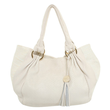 Furla Handbag in cream white
