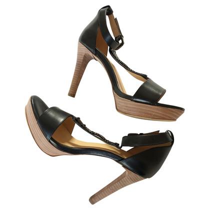 Strenesse Blue Sandals in black