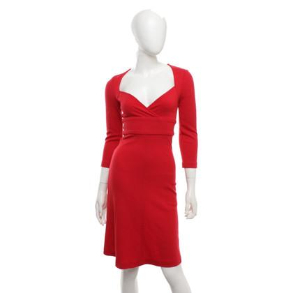 Diane von Furstenberg Rotes Kleid