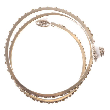 Chanel Bangle in white gold colors