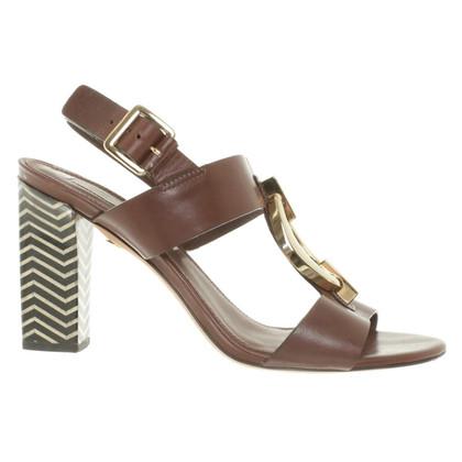 Diane von Furstenberg Sandals in Brown